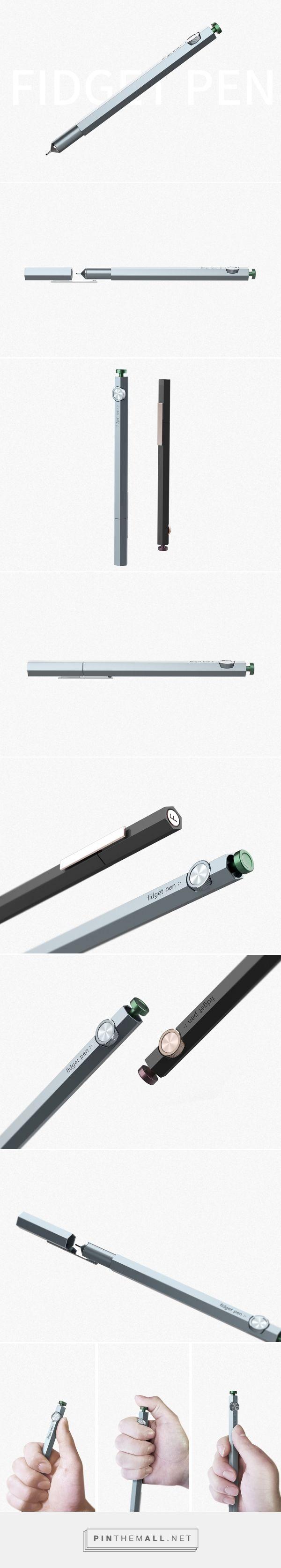 Forget the Fidget Spinner, Meet the Fidget Pen | Yanko Design - created via https://pinthemall.net