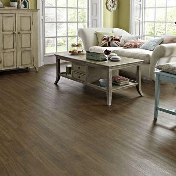 Karndean Knight Tile Mid Brushed Oak Vinyl Flooring Tiles - Every Floor Direct