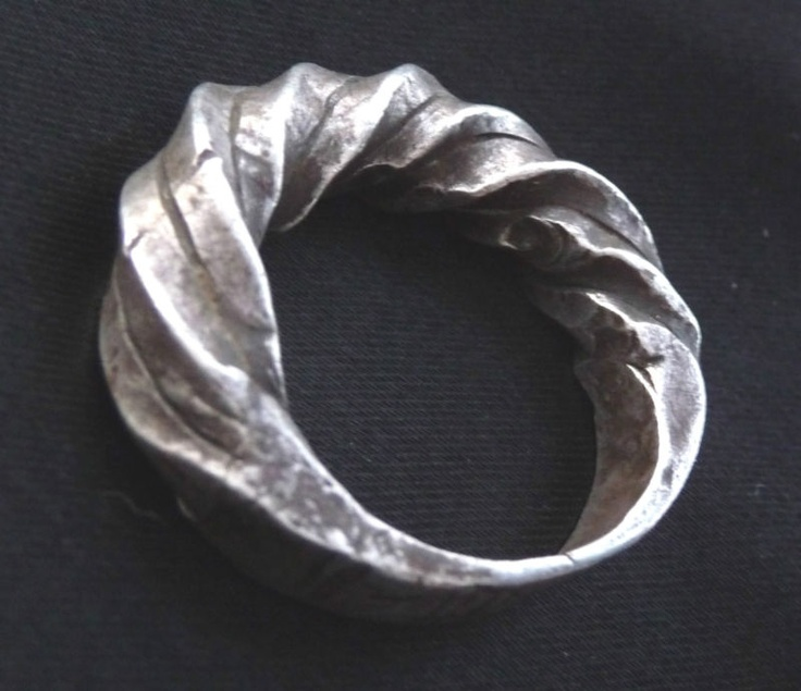 eBay | Africa, Old Solid Sterling Silver Ring - Fulani Peul Fulbe - Mali