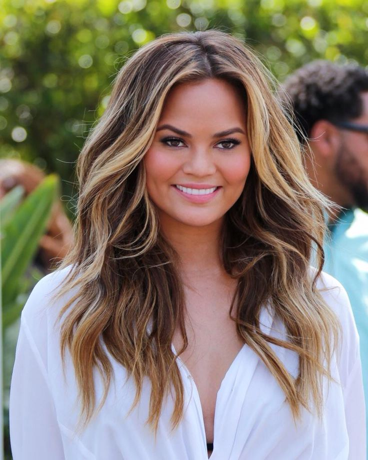 via Chrissy Teigen #hair ♥