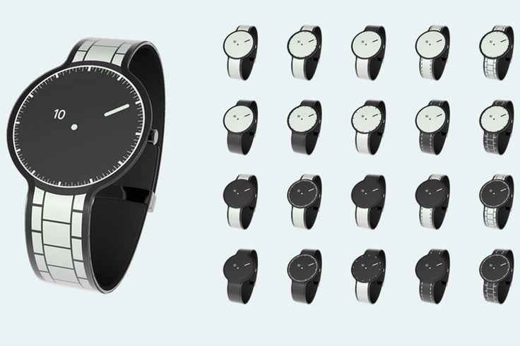 Sony's latest wearable is a watch made of electronic paper