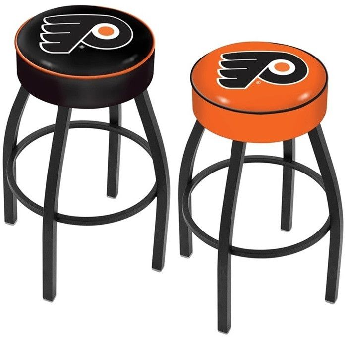 Start Tab Description The Philadelphia Flyers With Team Logo Bar Stool Is Made For Ultimate Sports Fan Impress Your Friends This Knockout