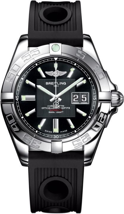 Breitling Watch Galactic 41 Trophy Black #add-content #bezel-unidirectional #bracelet-strap-rubber #brand-breitling #case-depth-14mm #case-material-steel #case-width-41mm #cosc-yes #date-yes #delivery-timescale-call-us #dial-colour-black #gender-mens #luxury #movement-automatic #official-stockist-for-breitling-watches #packaging-breitling-watch-packaging #style-dress #subcat-galactic #supplier-model-no-a49350l2-ba07-202s #warranty-breitling-official-2-year-guarantee #water-resistant-300m