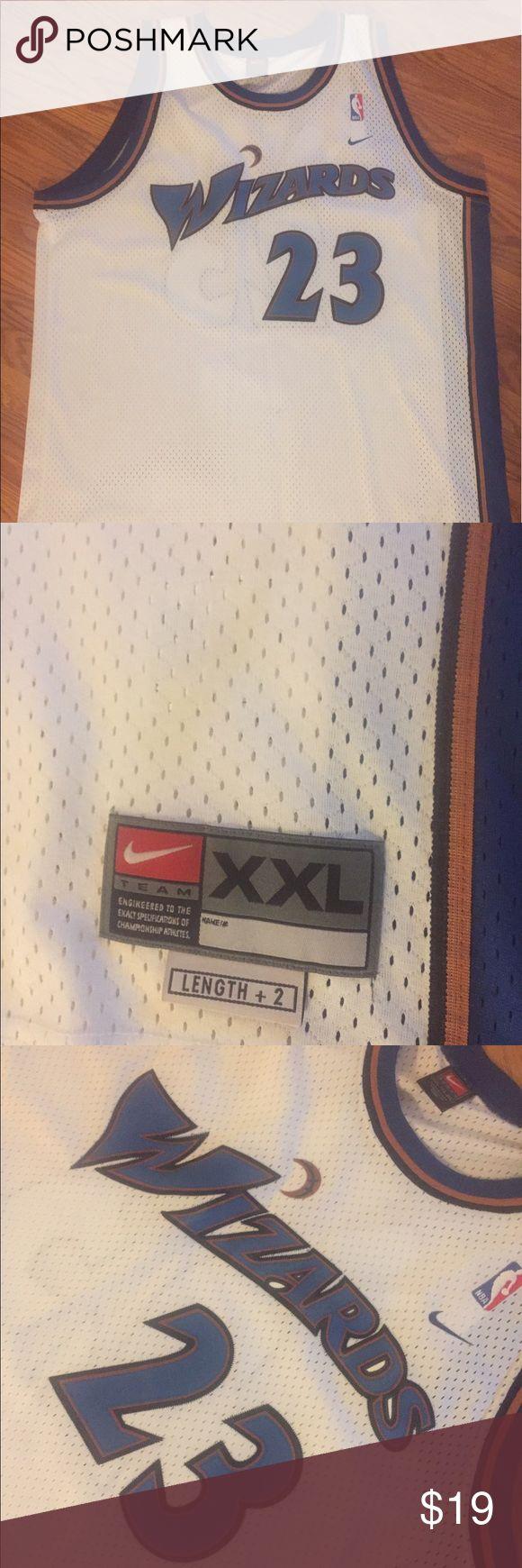 Nike - NBA Michael Jordan Wizards Jersey XXL Nike - NBA Michael Jordan Wizards Jersey XXL- Authentic Nike Other