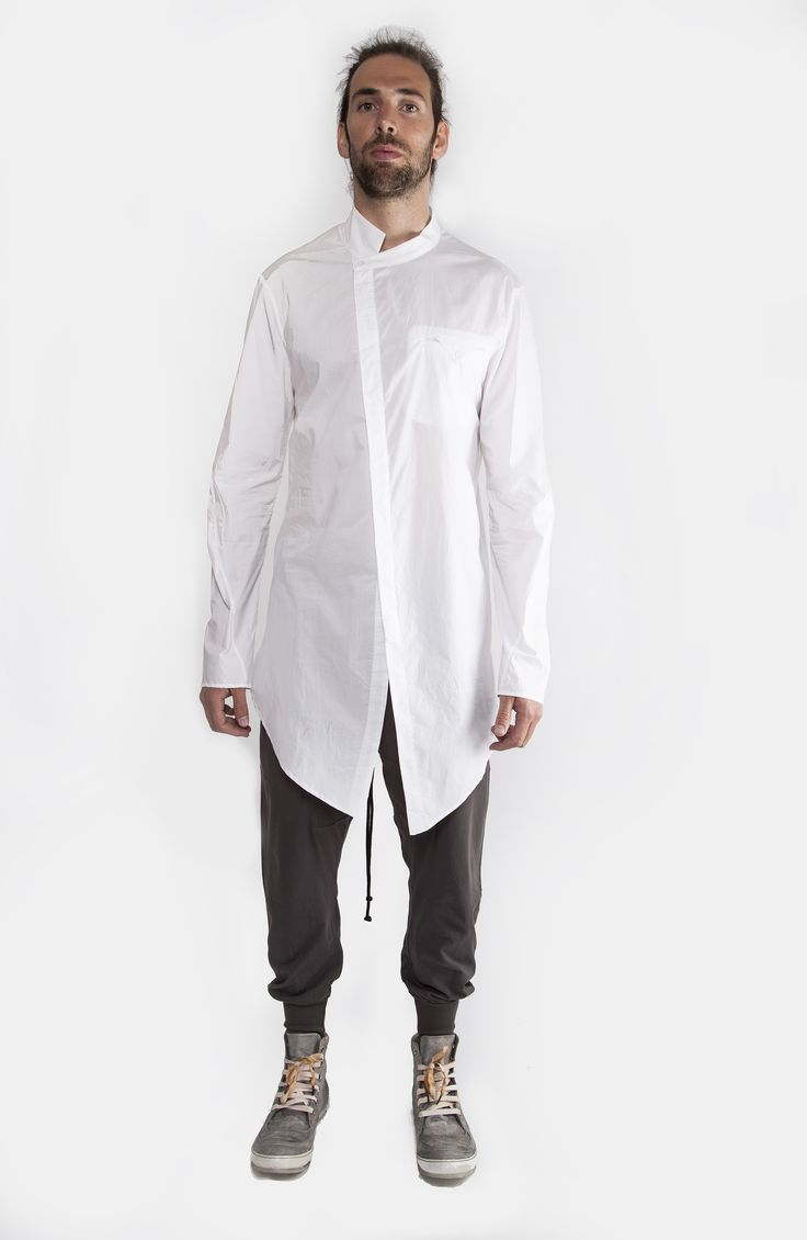 Lost&Found White Long Sleeve Shirt Spring/Summer 15