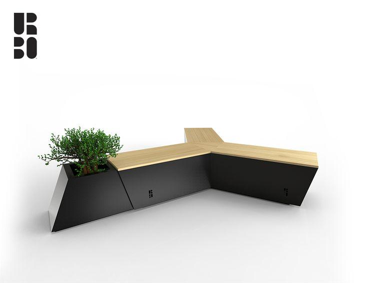 Air bench black + black