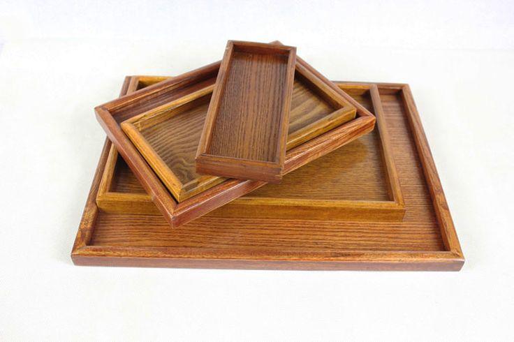 Деревянные поддоны деревянный поднос деревянный прямоугольный торт формового хлеба лоток деревянные поддоны деревянные суб-End Disk - Taobao