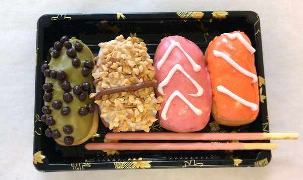 The Shop Psycho Donuts Designs a Bento Box of Sweets #recipes trendhunter.com