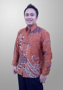Baju Batik Sunwash Pria Deawasa Semi Sutra Motif Kembang Kode BSP 13 Kirim Pesan ke 082134923704