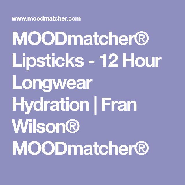 MOODmatcher® Lipsticks - 12 Hour Longwear Hydration | Fran Wilson® MOODmatcher®