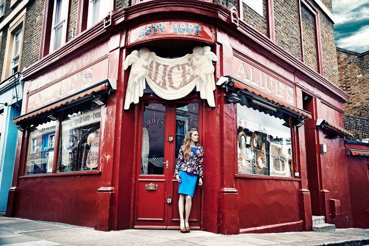 Sesja kolekcji QUIOSQUE na sezon jesień-zima 2014/2015, photo: Kajus W. Pyrz   #QSQ #photography #photo #retro #vintage #england #greatbritain #fashion #inspiration #autumn #fall #look #outfit #women #beauty #style #casual #elegance