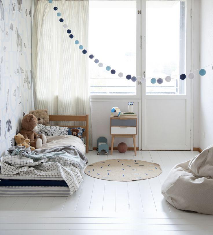 grey and blue soft tones in child's room www.kidsdinge.com    www.facebook.com/pages/kidsdingecom-Origineel-speelgoed-hebbedingen-voor-hippe-kids/160122710686387?sk=wall http://instagram.com/kidsdinge