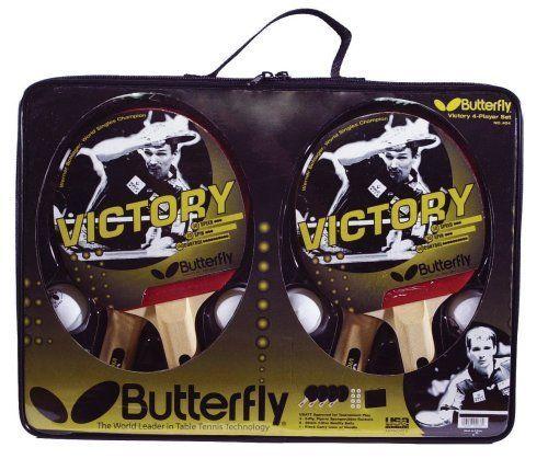 Butterfly Victory 4-Player Table Tennis Set Butterfly http://www.amazon.com/dp/B000G2BBY6/ref=cm_sw_r_pi_dp_iOynvb1BN2CMN