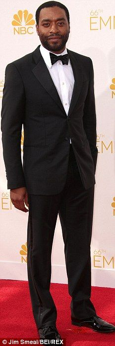 Acclaimed: Idris Elba was nominated for his role in Luther, while Jim Parsons won again fo...
