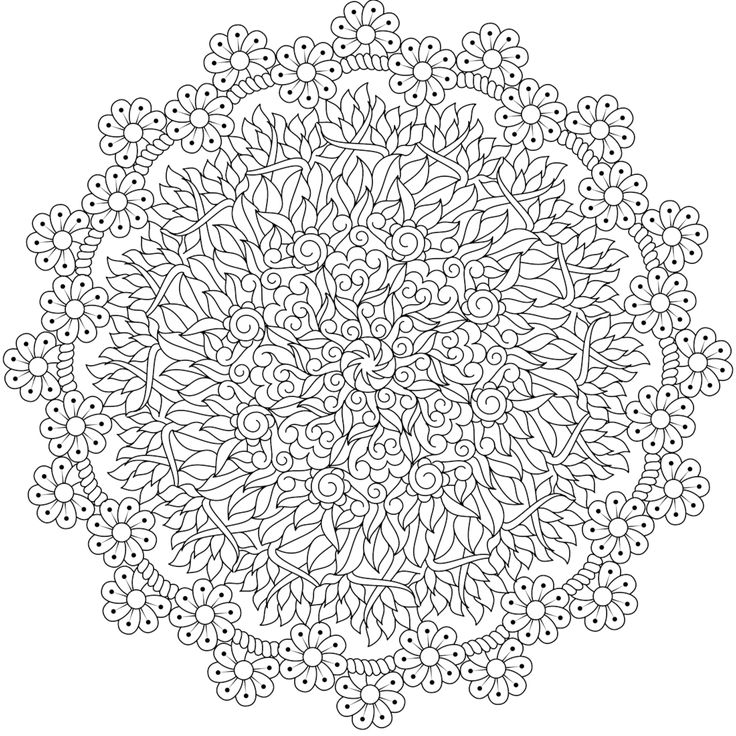 "This is ""Baby's Breath, a free printable coloring page from mondaymandala.com https://mondaymandala.com/m/babys-breath?utm_campaign=sendible-pinterest&utm_medium=social&utm_source=pinterest&utm_content=babys-breath"