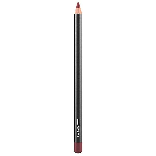 MAC Lip Pencil - Colour Burgundy (25 CAD) ❤ liked on Polyvore featuring beauty products, makeup, lip makeup, lip pencils, lip pencil and mac cosmetics