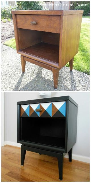 Before and After: Blog full of DIY furniture transformations