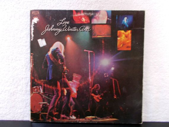 Live Johnny Winter And. 1971 Columbia Records LP 33 by AbqArtistry, $6.99