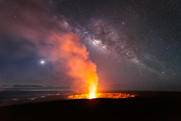 Big Island of Hawaii with the fire Goddess Pele in action...are you living on fire with your one and only precious life?