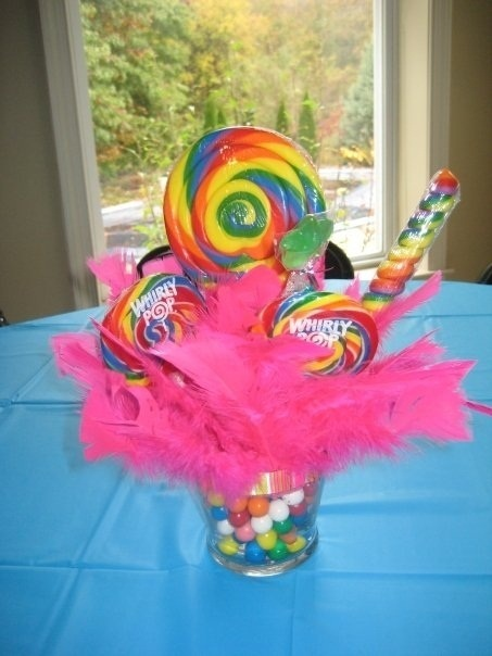 great candy centerpiece