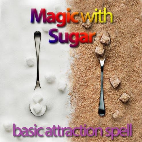 basic attraction spell with sugar
