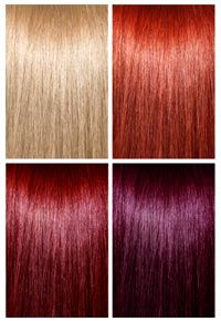 Want to go from red hair dye to platinum blonde? Here's how.