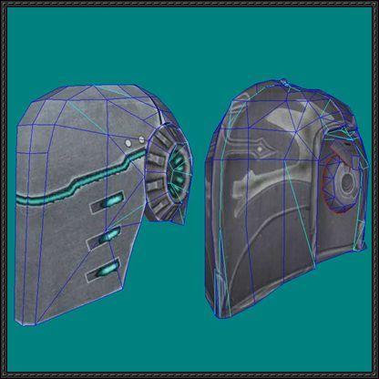 2 Hellgate: London Helmet Papercrafts Free Templates Download - http://www.papercraftsquare.com/2-hellgate-london-helmet-papercrafts-free-templates-download.html