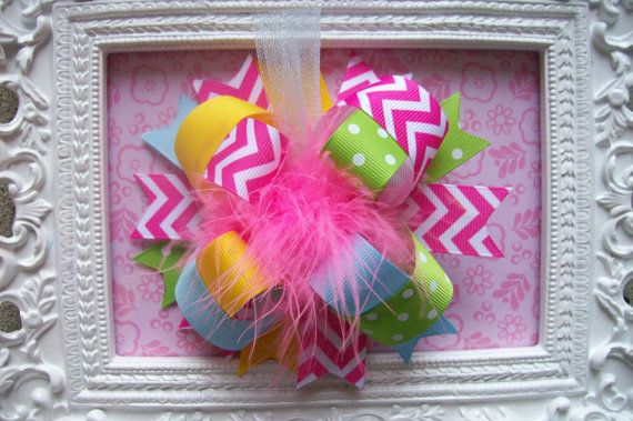 Hey, I found this really awesome Etsy listing at http://www.etsy.com/listing/126005790/chevron-hair-bow-girls-hair-bow-big-hair