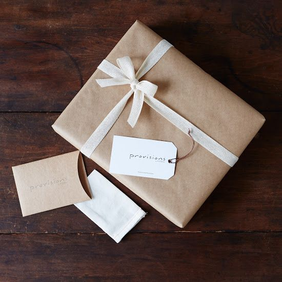 Brown Paper Packages tied up in string... Keep it simple.