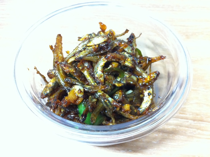 stir-fried anchovies