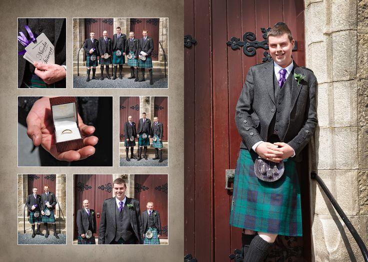 Stewart & Nicola Belhelvie Church Airport Thistle Hotel - Martin Leckie Wedding Photographer & Design