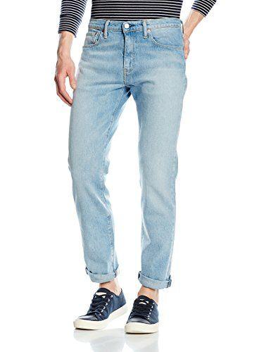 Jeans levis slim gris homme