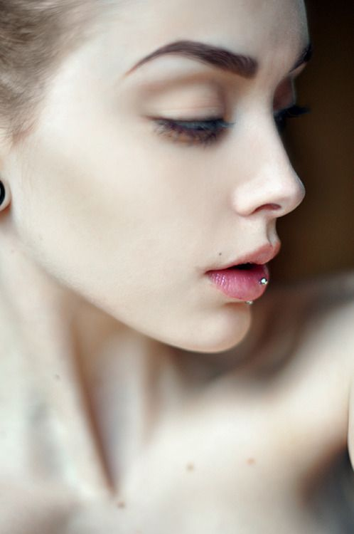 Johanna Herrstedt Labret Piercing