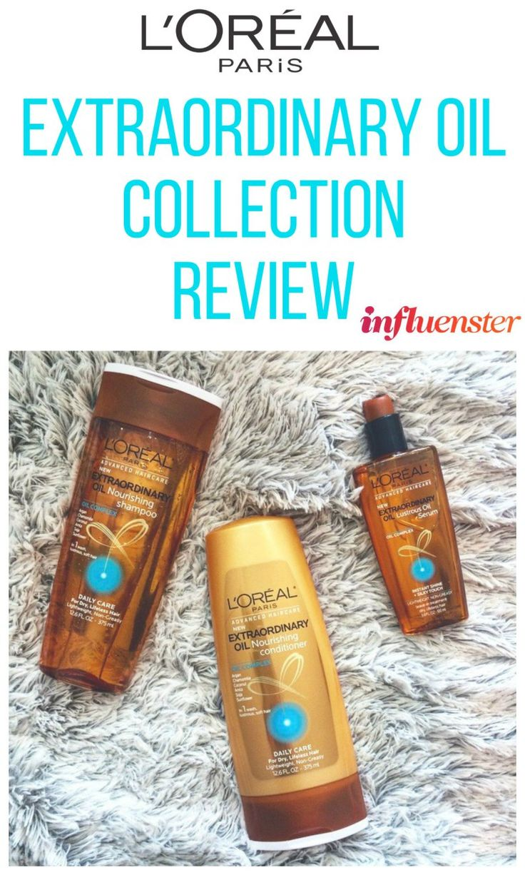 LOREAL EXTRAORDINARY OIL COLLECTION REVIEW - Thank you @influenster for sending me these for testing!