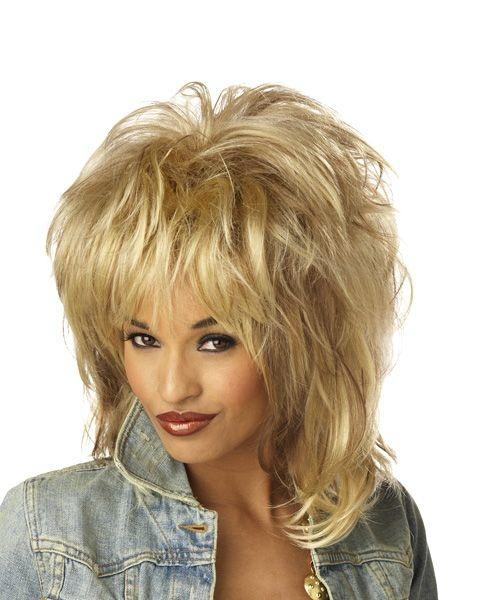 Rockin soul blonde wig adult hairstyles pinterest