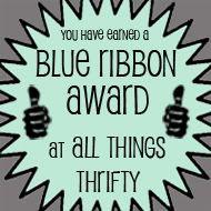 Blue Ribbon Award: Feature Friday