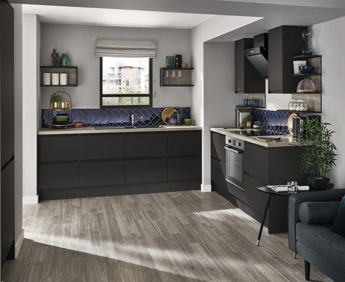 Clerkenwell Super Matt Graphite Kitchen In 2019