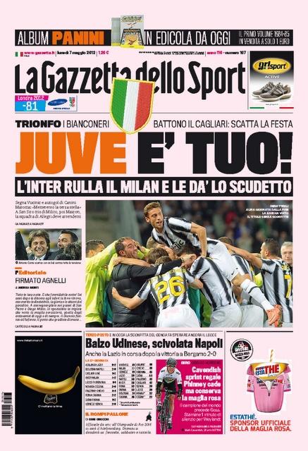 Gazzetta 07.05.2012
