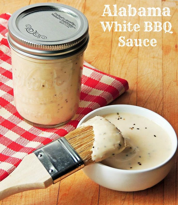 White bbq sauce, Bbq sauces and Alabama on Pinterest