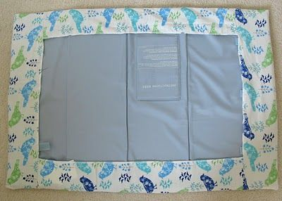Fitted Portable Baby Cot Sheet Tutorial