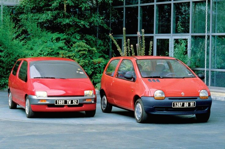 W60 Prototype of 1986 and Twingo which was released in 1992. Great things sometimes take time to happen.