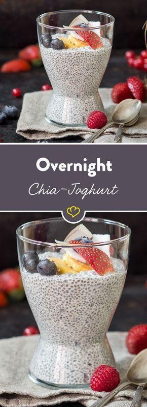 Bereiten Sie sich heute vor, genießen Sie morgen! Der kleine Powerkörner schwillt über Nach …   – Overnight oats