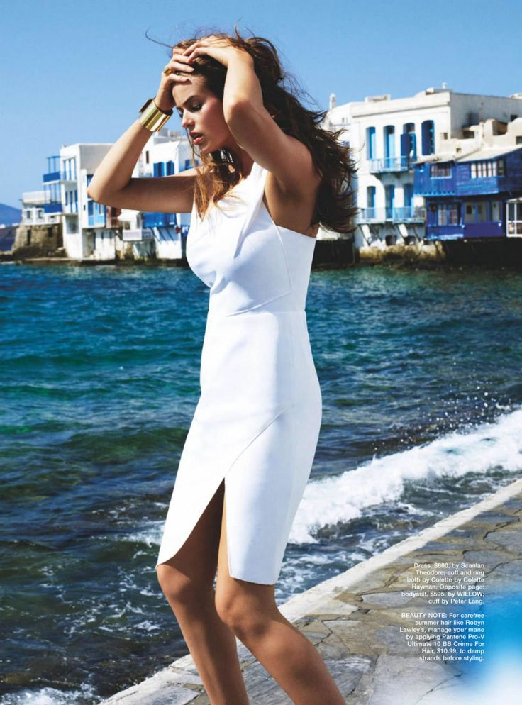 Robyn Lawley by David Gubert for Marie Claire Australia December 2014
