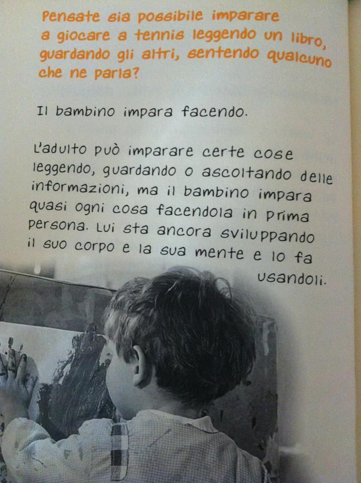 il pensiero di Maria Montessori