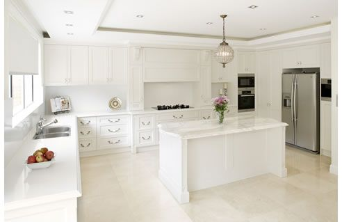 Modern French Provincial Influence Kitchen
