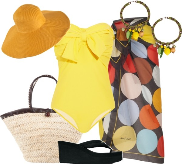 """Vamos a la Playa"" by outfits-de-moda2 on Polyvore"
