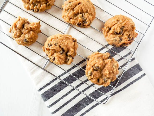 Chocolate Chip Banana Bread Muffin Tops - Simply Taylor