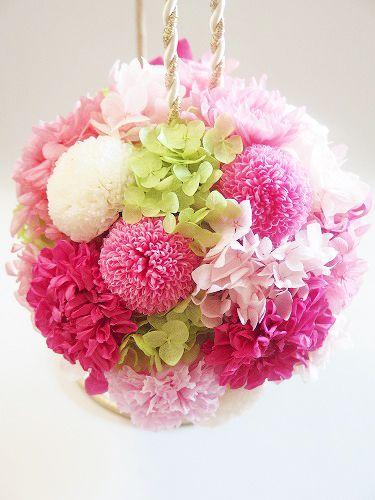 【最新♪】和装ブーケのデザイン集 |大阪 プリザーブドフラワー教室 ~flower mariage~(フラワーマリアージュ)
