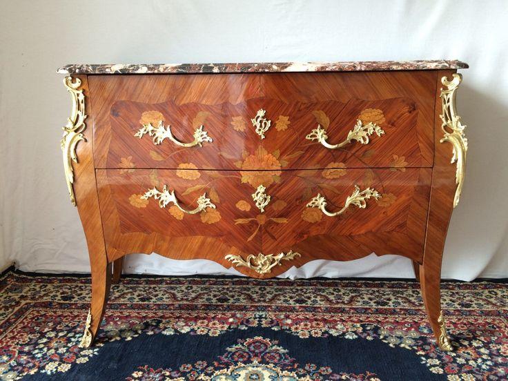 25 b sta id erna om commode louis xv p pinterest style for Meuble en bois de rose