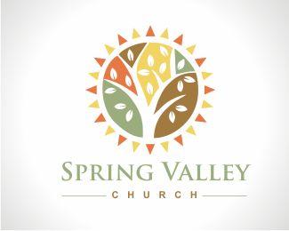 Spring Valley Church logo design